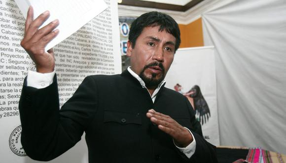 Gobernador Elmer Cáceres Llica. (Foto: GEC)