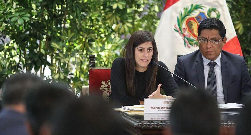 María Antonieta Alva, ministra de Economía