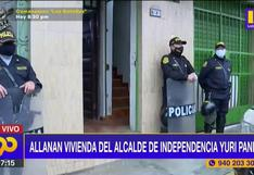 Independencia: allanan vivienda de alcalde y otros funcionarios ediles por actos de corrupción