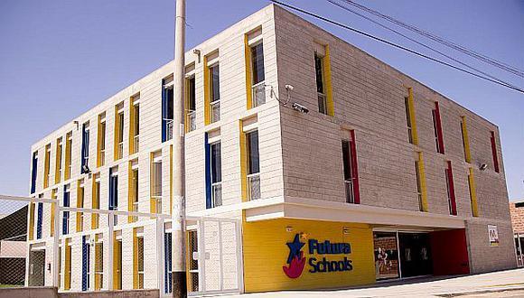 Futura Schools tiene diez colegios en seis provincias (Arequipa, Trujillo, Tacna, Ica, Chiclayo y Piura).