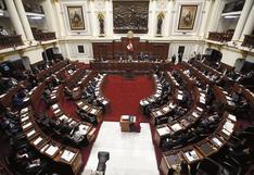 Congreso aprueba que legisladores con procesos penales tengan funciones fiscalizadoras