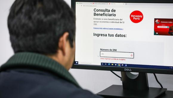 Consulte hoy si recibirá el bono Yanapay Perú. (Foto: Midis)