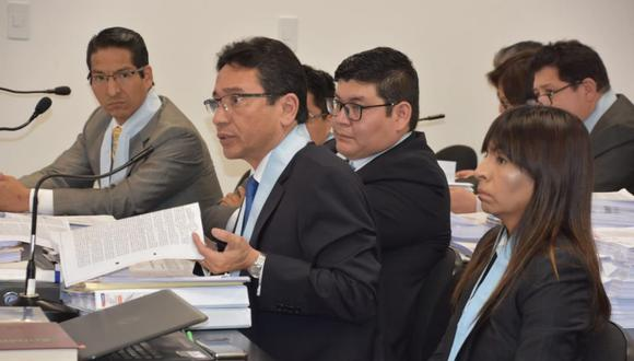 Humberto Abanto sostuvo que el aporte entregado por Jaime Yoshiyama a su sobrino, habría sido de una sola empresa o persona. (Foto: Poder Judicial)