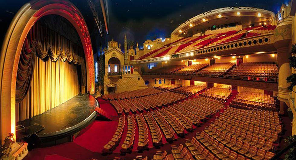 FOTO 3 | LE GRAND REX, PARIS, FRANCIA. La sala de cine más grande de Europa con 2800 sillas fue diseñada para dar la sensación al espectador de estar al exterior gracias a sus techos azules y el gran espacio interior que posee la sala. Por dentroes una belleza desde lo veas.