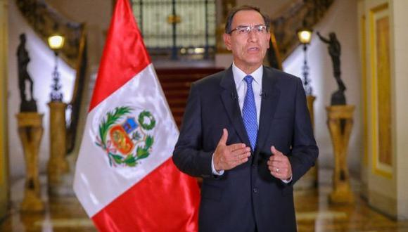 El mandatario ratificó su rechazo a la remoción de los fiscales Rafael Vela y José Domingo Pérez. (Foto: GEC)