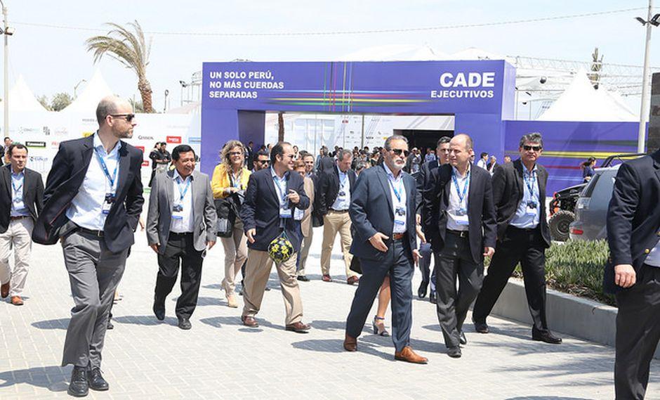 Los empresarios de la CADE aumentan su disconformidad sobre la gestión de PPK. (Foto: CADE 2017)