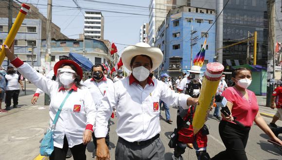 Pedro Castillo, candidato de Perú Libre. (Foto: GEC)