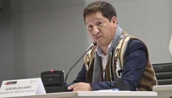 Guido Bellido declaró luego de participar en la inauguración del GORE Ejecutivo en Iquitos. (Foto: archivo PCM)