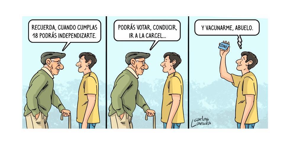 Caricatura de Carlos Lavida