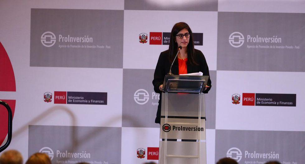 María Antonieta Alva destacó la exitosa trayectoria del Estado peruano en casos ante el Ciadi. (Foto: GEC)