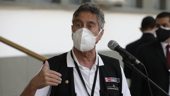 Presidente Francisco Sagasti afirmó que vacunadores que incumplan protocolos serán duramente castigados. (Foto: GEC)