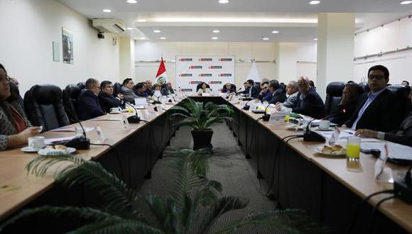 La sesión extraordinaria del CNT también abordó temas relacionados al Plan Nacional de Productividady Competitividad. (Foto: MTPE)