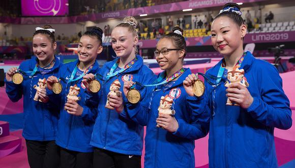 Estados Unidos alargó su ventaja en lel medallero general de los Juegos Panamericanos Lima 2019. (Foto. EFE)