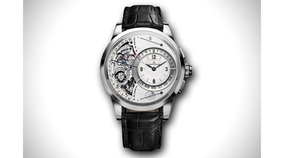 El Hybris Mechanica à Grande Sonnerie, Jaeger‑LeCoultre: Es uno de los relojes más complejos de la historia de la relojería. Su precio es de US$ 2.5 millones.