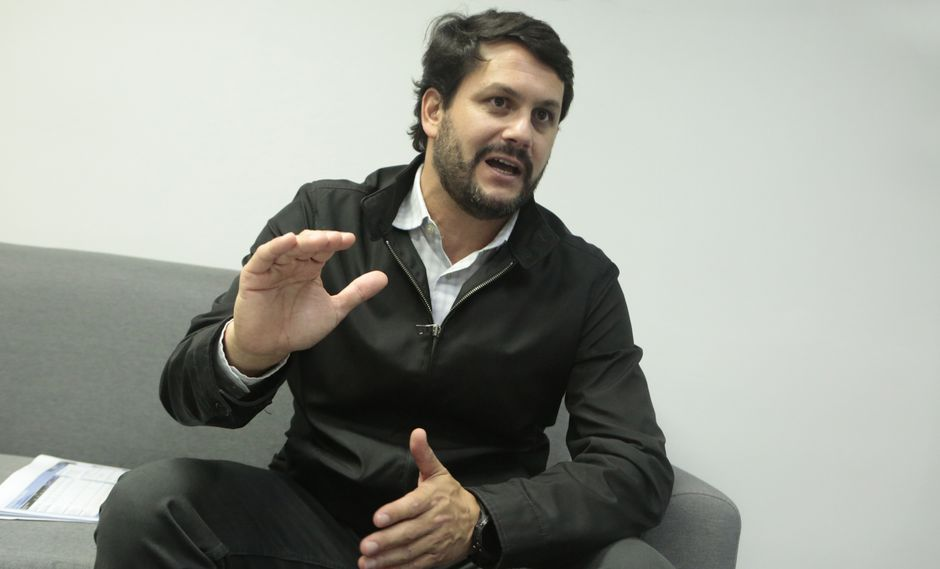 Nicolás Pesaque, gerente general de Volcán Perú.