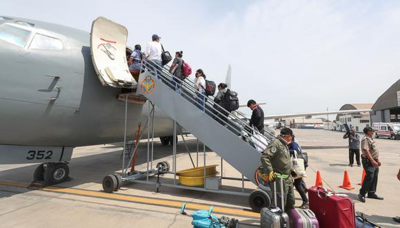 El objetivo del gobierno es traer a 10,000 peruanos varados en todo el mundo  (Foto: Andina)