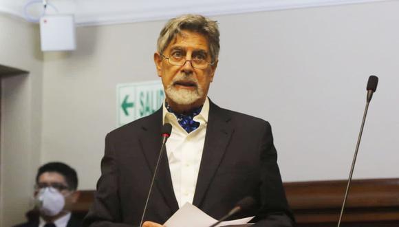 Francisco Sagasti también asumirá la Presidencia. (Foto: Congreso)