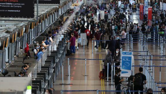 Imagen del Aeropuerto Internacional de Santiago, Chile, 23 de noviembre de 2020. (REUTERS/Ivan Alvarado).