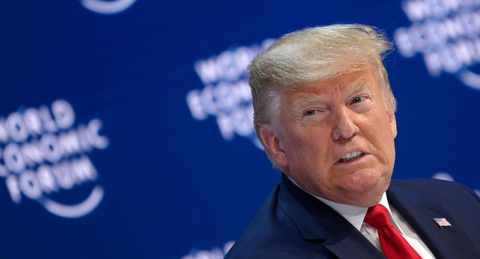 """Trump acusó a los """"herederos de los insensatos adivinos del pasado"""" de equivocarse en cambio el cambio climático.  (Foto: AFP)"""