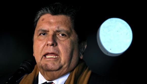 El fallecido expresidente Alan García. (Foto: AFP)