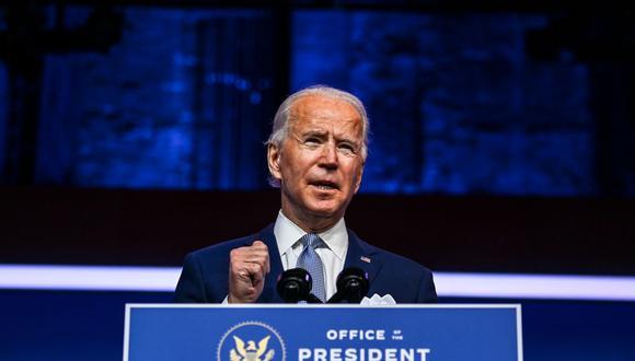 Joe Biden promete una reactivación económica inclusiva. (Foto: Reuters)