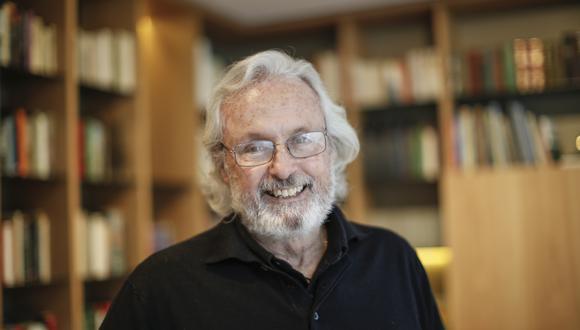 Leslie Pierce, economista y tablista. (Foto: Enrique Cúneo).