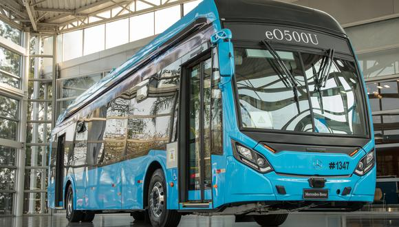 Mercedes-Benz producirá chasis para buses eléctricos.