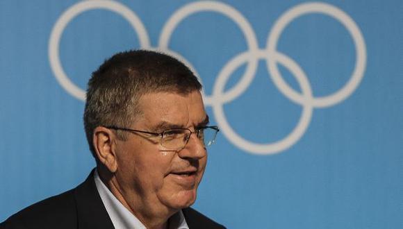 El presidente del Comité Olímpico Internacional, Thomas Bach. (Foto: Agencias)