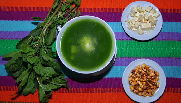 El caldo verde es una tradición cajamarquina que se consume por la mañana. (Foto: Antonio Melgarejo)