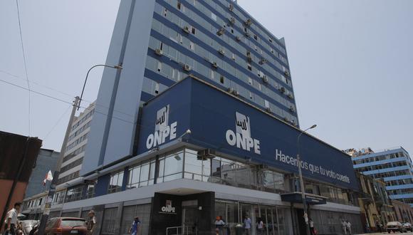 La ONPE difundió un comunicado tras operativo realizado por el Ministerio Público este sábado. (Foto: GEC)
