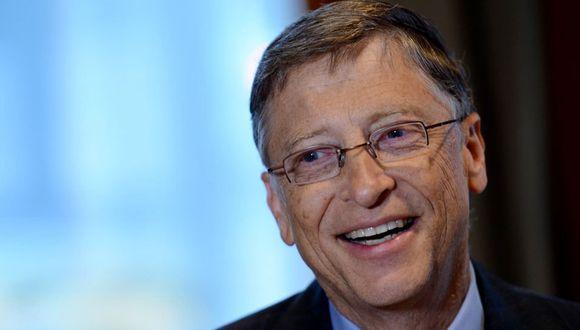 FOTO 3 | Bill Gates fue el que menos ganó, ya que su riqueza solo aumentó en US$ 4,000 millones el año pasado. (Foto: AFP)