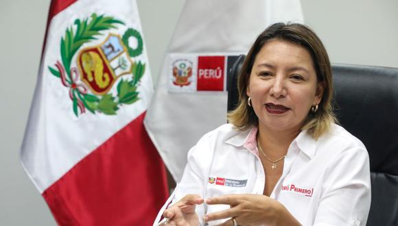 Medidas. Titular del Produce, Rocío Barrios, señala que el DU N° 13 - 2020 busca inyectar de mayor liquidez a las mipymes.  (Foto: Produce)