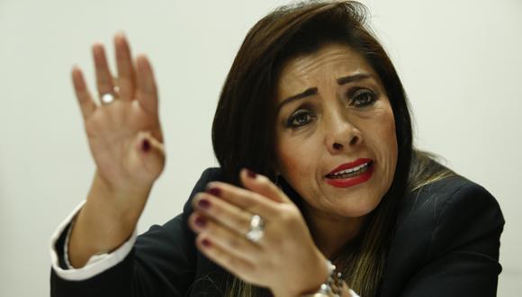 """""""Reconozco el esfuerzo de mi partido de ponerme donde estoy y no solo soy grata sino leal a la institución y le puedo decir que lo que estamos haciendo no está bien"""", señaló Alejandra Aramayo (Foto: GEC / Vide: Canal N)"""