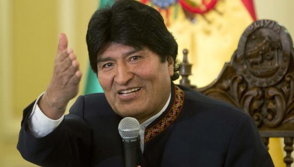 """""""Hemos perdido en Ecuador, pero ganamos en Perú en la primera vuelta"""", expresó en un evento público Evo Morales sobre la derrota de Andrés Arauz y el pase a segunda vuelta de Pedro Castillo, respectivamente. (Foto: (AP)"""