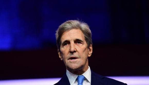 Enviado presidencial especial de EE.UU. para el Clima, John Kerry. (Getty)