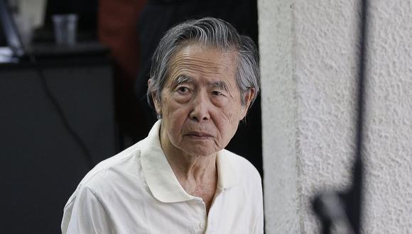 El ex presidente Alberto Fujimori permanece internado en una clínica desde que se revocó su indulto humanitario. (Foto: USI)