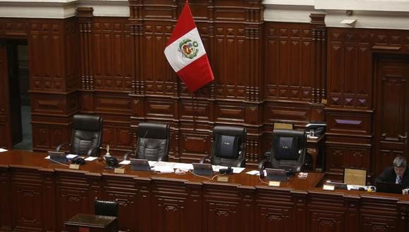 Según el reglamento del Congreso, para que una fórmula se haga de la mesa directiva debe lograr mayoría simple, es decir ser respaldada por 66 parlamentarios. (Foto: GEC)