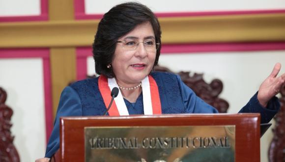 Ledesma indicó que si bien el TC es el máximo intérprete de la Constitución, este no solo se circunscribe a dicho organismo. (Foto: GEC)