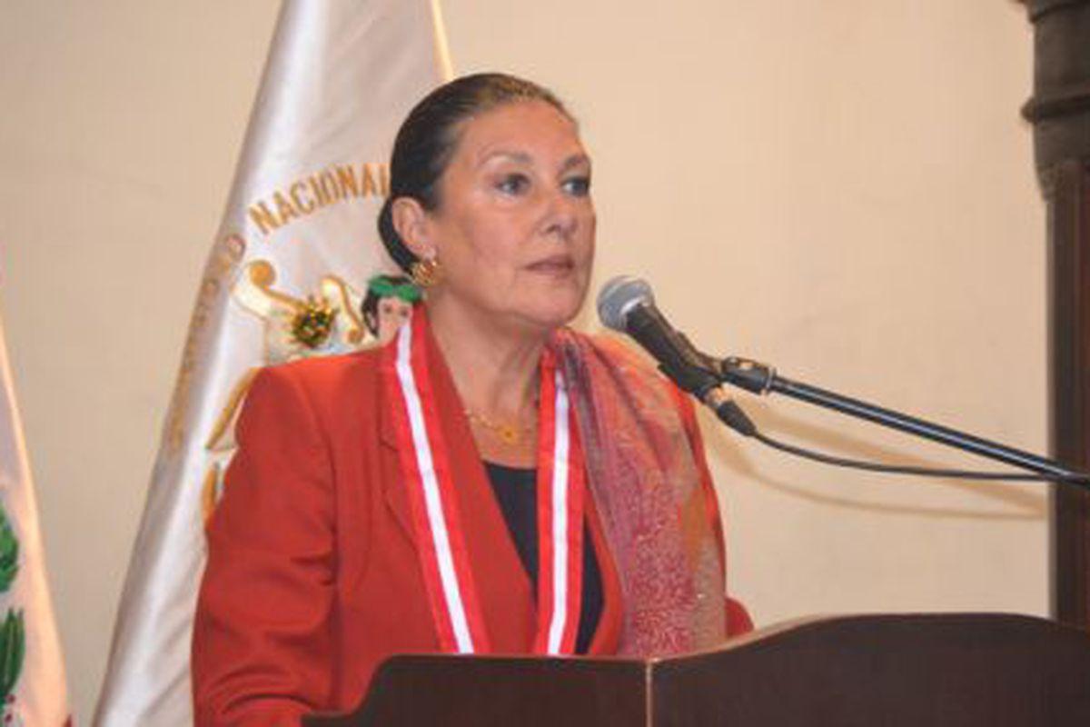 Resultado de imagen de Fabiola León-Velarde Servetto, presidenta del Consejo Nacional de Ciencia, Tecnología e Innovación Tecnológica