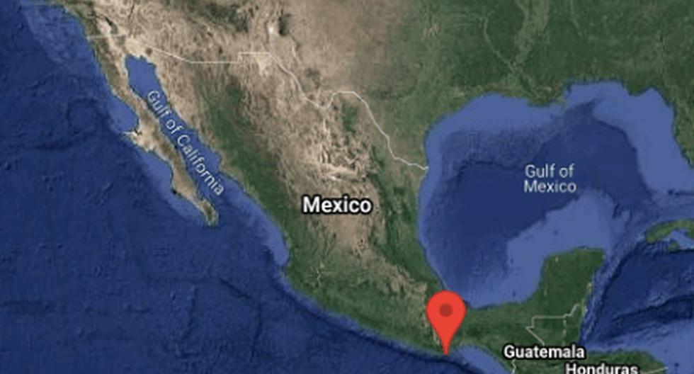 Fuerte sismo se registra en el sur de México. (Captura/Twitter/@SismologicoMX).