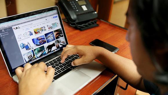 Los peruanos alistan las compras por internet por el Día del Padre. (Foto: GEC)