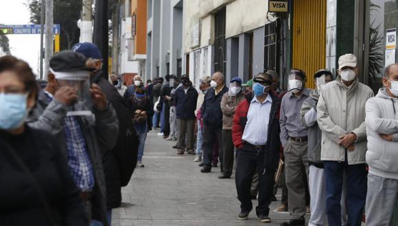 La pandemia del COVID-19 ha llevado al país a una recesión. (Foto: Violeta Ayasta / GEC)