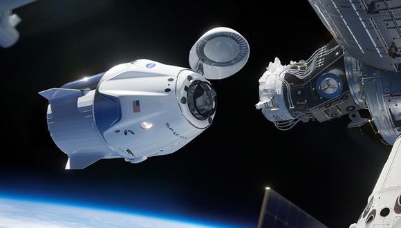 Los nuevos turistas viajarían en la cápsula Crew Dragon de SpaceX. (Foto: SpaceX)