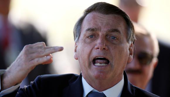 El presidente de Brasil, Jair Bolsonaro. (Foto: Reuters)