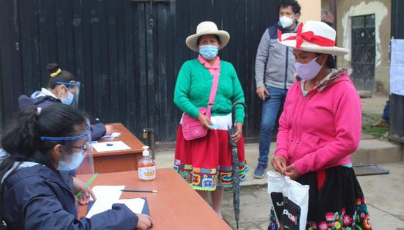 Los comicios de este 11 de abril se desarrollan en medio de la pandemia de COVID-19, por lo que se establecieron protocolos de bioseguridad. (Foto: ONPE)