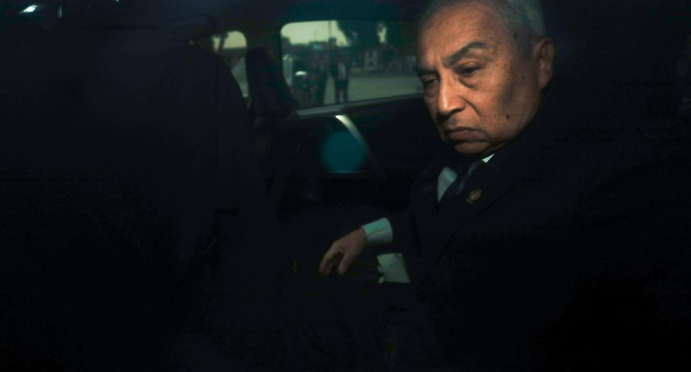 """Pedro Chávarry es investigado por la Fiscalía por presuntamente pertenecer a la organización criminal """"Los Cuellos Blancos del Puerto"""". (Foto: GEC)"""