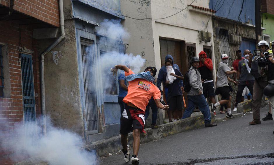 Crisis lleva el descontento a barriadas pobres de Caracas. (Foto: Bloomberg).