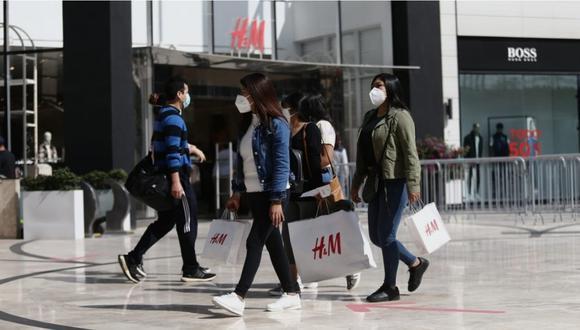La reapertura de los centros comerciales causó diversos comentarios de usuarios en redes sociales. (Foto: GEC)
