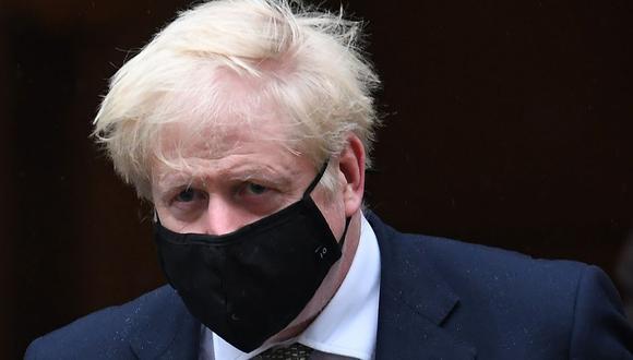 El primer ministro británico Boris Johnson. (Foto: Daniel LEAL-OLIVAS / AFP).