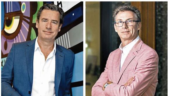 Thomas Dubaere (TD), CEO de Accor para Sudamérica (izquierda) y  Franck Pruvost (FP), COO de Accor para países hispánicos (derecha). (Foto: Difusión)